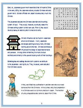 "Medieval Japan - ""Asian Influence on Japan"" + Assessment"