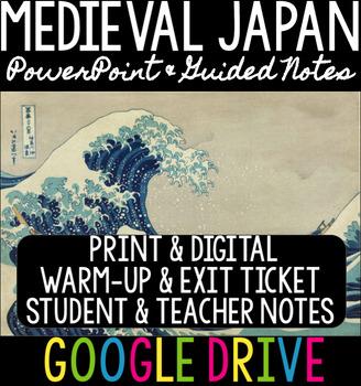 Medieval Japan/Feudal Japan PowerPoint