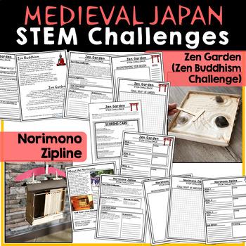 Medieval Japan - Feudal Japan STEM Challenges