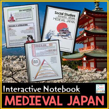 Medieval Japan Interactive Notebook Feudal Japan