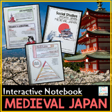 Medieval Japan Interactive Notebook Feudal Japan