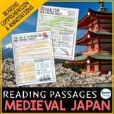 Medieval Japan Reading Passages - Questions - Annotations Feudal Japan