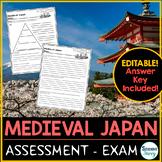 Medieval Japan Test - Exam Feudal Japan