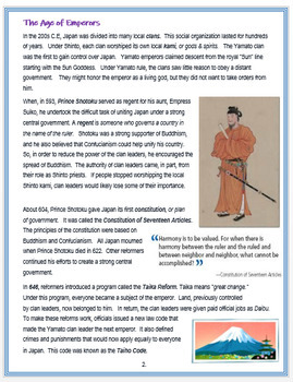 """Medieval Japan - """"The Rise of Japan"""" - An Overview + Quiz"""