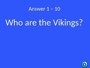 Medieval Jeopardy