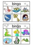 Medieval Knights & Princesses Bingo Cards