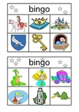 Medieval Knights & Princesses Bingo Cards