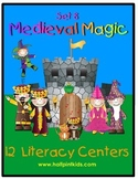 Medieval Magic Literacy Centers: Half-Pint Readers Set 8