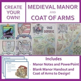Medieval Manor and Coat of Arms - Create Your Own! (Notes,
