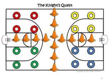 Medieval Mayhem: 3 Large Group PE Games