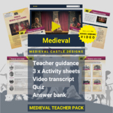 Medieval   Medieval Castle Designs Activity Pack and Award