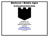 Medieval / Middle Ages Board Game