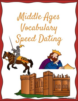Medieval / Middle Ages Vocabulary Speed Dating