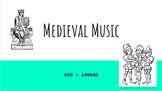 Medieval Music History Slide Set