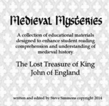 Medieval Mysteries: The lost treasure of King John