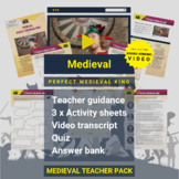 Medieval   Perfect Medieval King Activity Pack and Award-w
