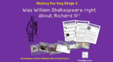 Medieval Realms: 'Was Shakespeare right about Richard III?'