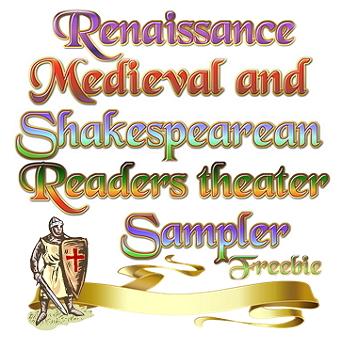 Medieval, Renaissance, Shakespearean readers theater sampler
