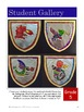 Medieval Shields with Dragons + Mythical Animals: Art Lesson for Grades 4-7