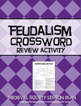 Medieval Society - Crossword Puzzle Review