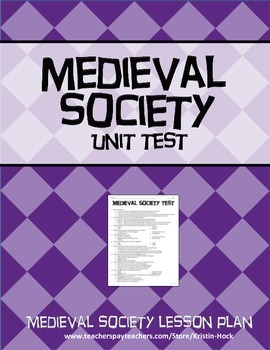 Medieval Society - Unit Test