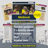 Medieval   The Medieval Church Activity Pack and Award-win