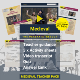 Medieval   The Peasants' Revolt Activity Pack and Award-wi