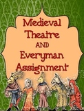 MEDIEVAL THEATRE BACKGROUND AND EVERYMAN CREATIVE WRITING ASSIGNMENT