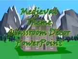 Medieval Theme PowerPoint