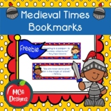 Medieval Times - Bookmarks
