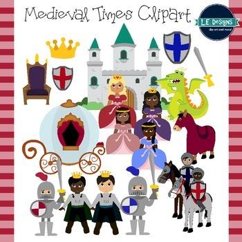 Medieval Times Clipart By Le Designs Teachers Pay Teachers