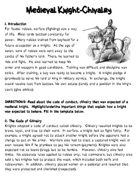 Medieval Times: Code of Chivalry