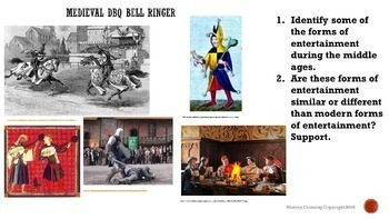 Medieval Times DBQ Bell Ringers