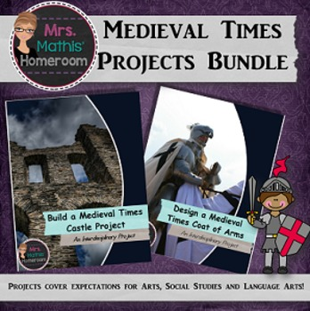 Medieval Times Interdisciplinary Projects Bundle