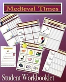 Medieval Times Middle Ages Quiz Cards and Student Mini Wor