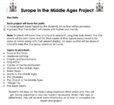 Medieval Times Project