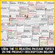 Medieval Times Reading Passages Bundle - Middle Ages