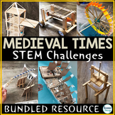 Medieval Times STEM Middle Ages Activities Projects