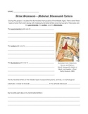Medieval Times/Middle Ages Illuminated Letters Artist Statement/Response