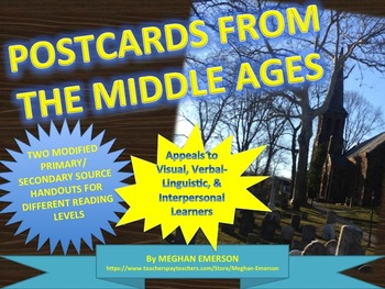 Medieval Town & Medieval Manor: Postcards from the Middle Ages with Handouts
