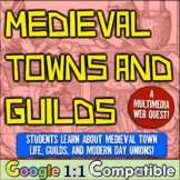Medieval Towns and Guilds Web Quest Lesson! Investigate Guilds & Modern Unions!