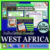 Medieval West Africa Interactive Notebook Instructional Bundle