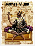 """Mansa Musa"" + Power Point, Activities, Assessment  (Distance Learning)"