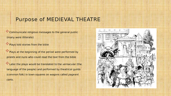Medieval and Renaissance Theatre