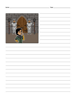 Medieval and Shakespearean Themed Story Starters for Creative Writing