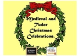 Middle Ages and Tudor Christmas celebrations history worksheets
