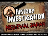 Medieval or Feudal Japan Investigation Medieval History Lesson