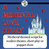 Medieval themed script for readers theater, short play or