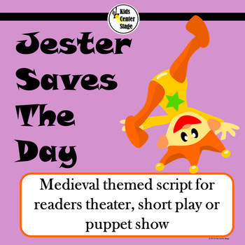 Medieval themed script for readers theater, short play or puppet show