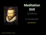 Meditation 17 by John Donne